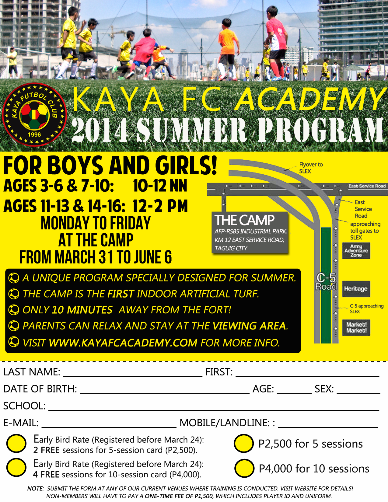 Copy of Summer Program Form